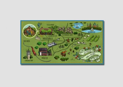 Hannover wedding map
